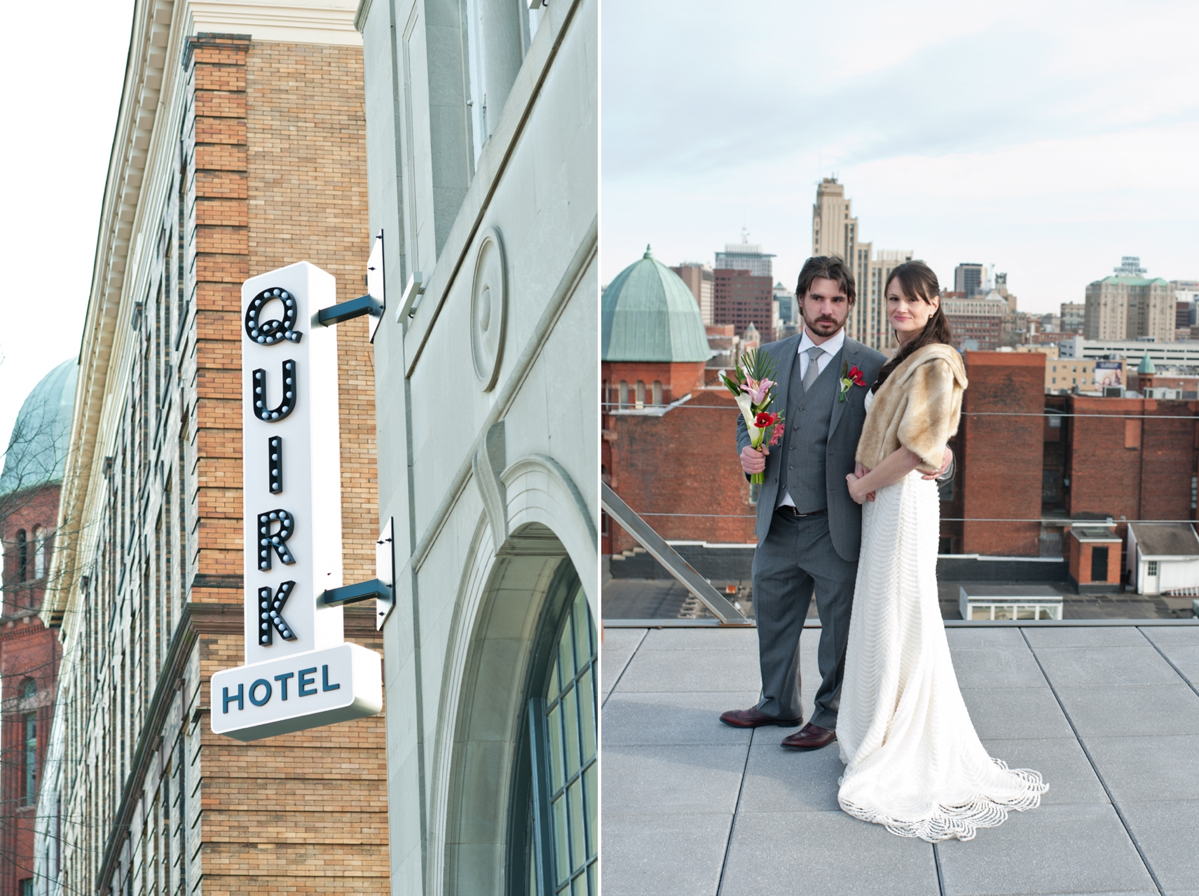 Quirk Hotel RIchmond wedding photographer